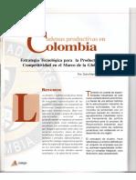Las Cadenas Productivas en Colombia