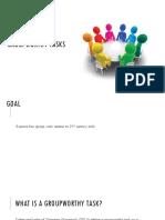 groupworthy tasks presentation