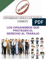 Los Organismos Que Protegen El Derecho Al Trabajo
