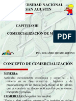 Comercalizaciu00f3n de Minerales y Metales Cap. III