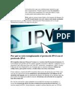 Internet IPVS 6 Protocolos