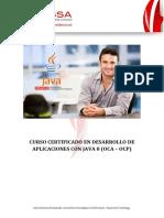 Curso Certificado en Java SE 8 Fundamentals