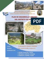 Pdu Distrito de Lircay-trabajo