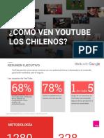 ¿Cómo ven YouTube los chilenos