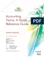 Accounting Terms-A Quick Reference