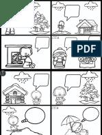 Colección de Fichas Para El Desarrollo de La Escritura Inventando Cómics