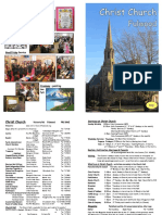Christ Church Fulwood, May Magazine