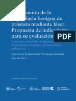 Avaliat200904 Hiperplasia Prostata
