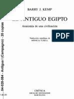 04-028-084 KEMP - El Antiguo Egipto, Cáp. 3 (La Mentalidad Burocrática)-Copiado
