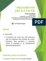 Palestra Tipos de tratamento contra o câncer