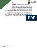 Resumo Do Texto - Origens e Carácter Da Filosofia Grega