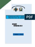 TRABAJO FORMULACIÓN Y GESTION DE PROYECTOS.doc