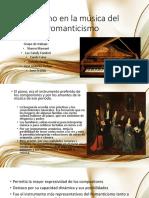 El Piano en La Música Del Romanticismo