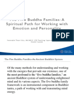 The Five Buddha Families Personality Theory