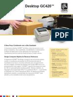 Impressora de Etiquetas Zebra Gc420t 1