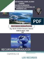 Clase 02 - Los Recursos Hidricos en El Peru