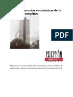 10 Consecuencias Económicas de La Reforma Energética