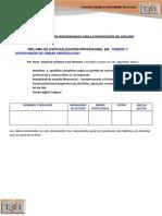 Requisitos Del Diploma de Obras Hidráulicas