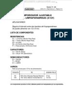 Material Temporizador Ajustable Limpiaparabrisas Aplicaciones Lista Componentes Funcionamiento Diagramas Conexiones