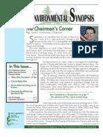 September 2010 Environmental Synopsis
