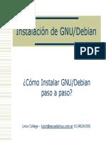 Guía de instalaciónn de GNU/Debian