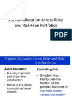 Capital Allocation Across Risky