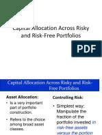 Capital Allocation Across Risky