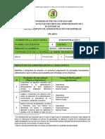 Syllabus Administración I
