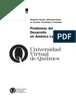 Arocena Problemas Del Desarrollo America Latina