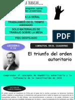 República Autoritaria