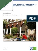Aranceles Matriculas2015 Fin