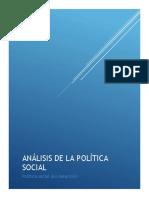 Analisis de la politica social