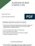 Normalizacion de Base de Datos y 2fn