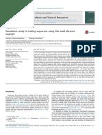 Simulation Study of Cutting Sugarcane Using Fine Sand Abrasive Waterje