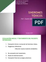 Toxidromes 2017