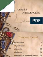 Unidad 4 Integración