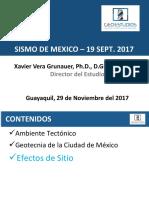 Presentación Sismo México 11.29.17