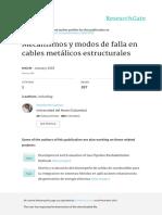 Mecanismos y Modos de Falla en Cables Metalicos Es