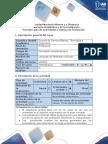 Guía de Actividades y Rúbrica de Evaluación –Paso 2 Analizar Mediante Casos de Uso El Comportamiento Del Sistema