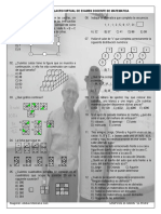 Simulacro Virtual 10 Matematica Domingo