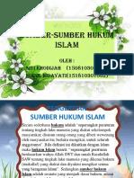 SUMBER-SUMBER HUKUM ISLAM.pptx
