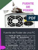 Fuente de Poder de Una PC