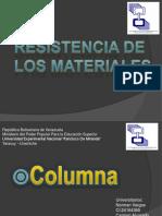 resistencia de los materiales columna