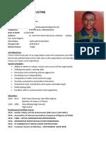 Ayinde Abiola Augustine CV