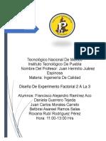 Diseño de Experimento Factorial 2 a La 3 Nylon (Trabajo Final)