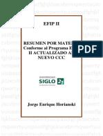 Resumen Efip II Nuevo Ccc