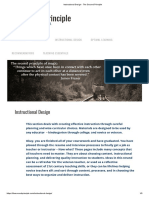 Instructional Designfor