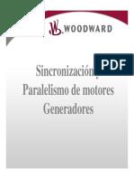 Sincronizacion y Paralelismo de Generadores Turbomotores Ecuatorianos