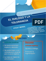 Dialogo y Tolerancia-etica