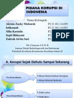 Kel. 8 Sejarah Korupsi Indonesia
